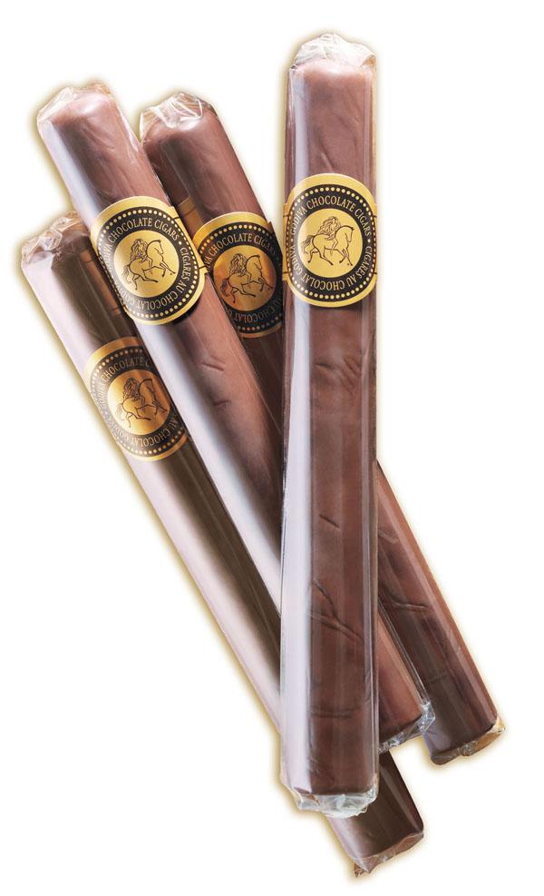 how to make chocolate cigars