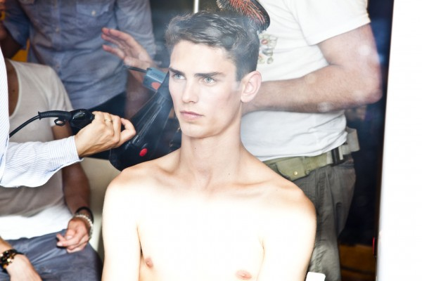 Paris Fashion Week - Schmidt LACROIX SS'13 Backstage