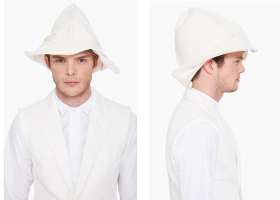 Comme Des Garcons Homme Plus Wool Hat