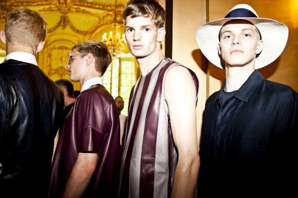 ACNE SS13 Backstage