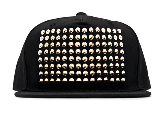 Stampd Gold Studded Cap