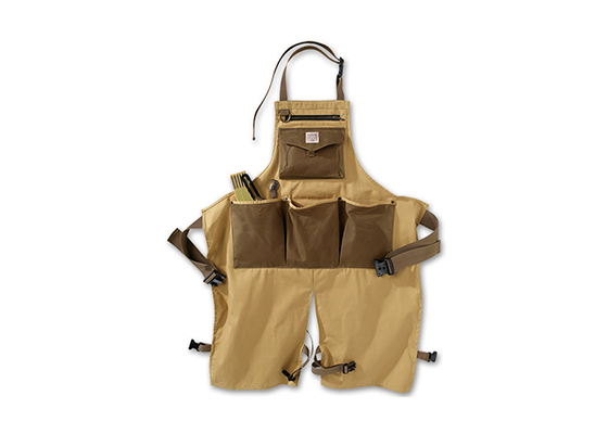 Filson Tin Cloth Utility Apron Barbecue BBQ Style Workshop Mens