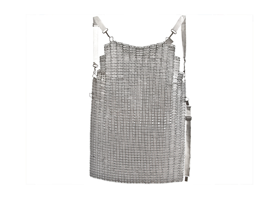 French Vintage Ultra Lamex Chain Mail Apron Butcher Barbeque BBQ style French Workshop mens