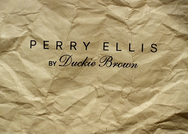 DUCKIE BROWN FOR PERRY ELLIS SPRING 2013 SNEAK PEAK