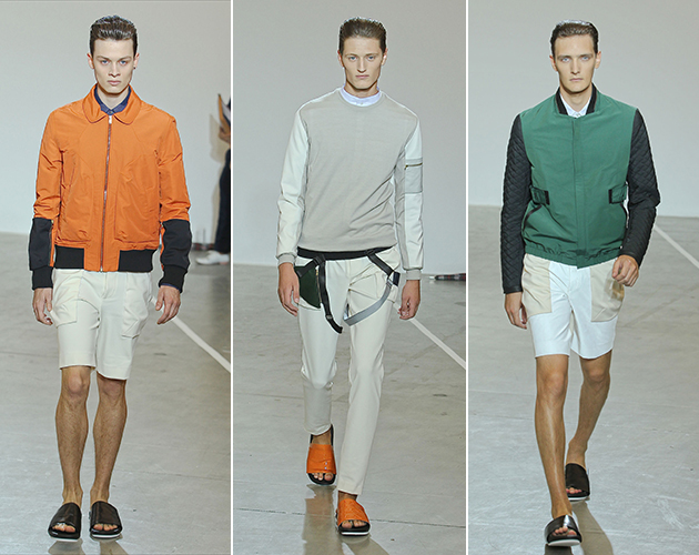Tim Coppins Mens Spring 2013: Gentlemen of the Sky