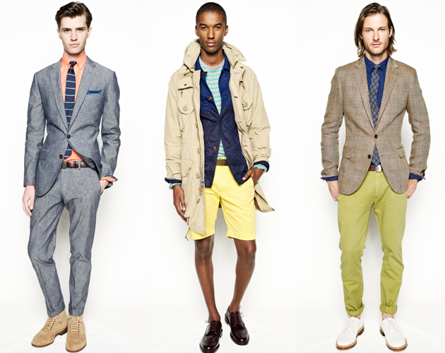J.Crew Spring 2013: A Colorful Edge