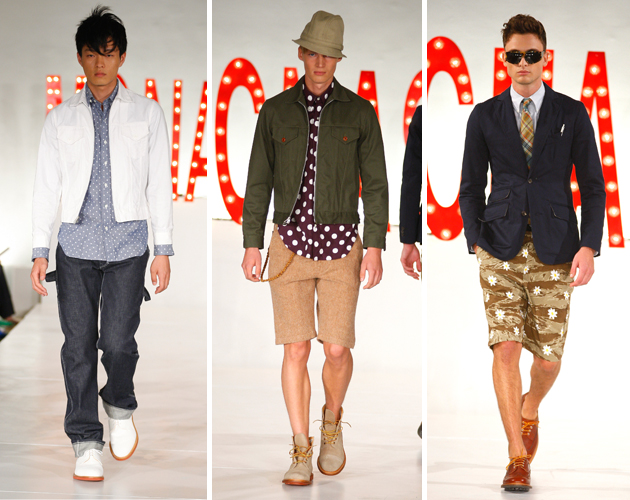 Mark McNairy Spring 2013: McNasty's Rock & Roll Circus
