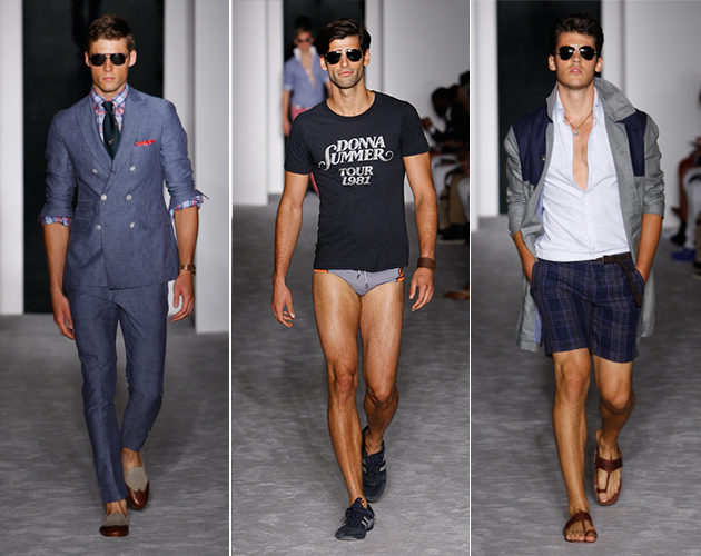 Michael Bastian Spring 2013: Love to Love You Baby