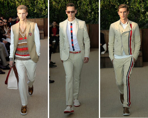 65b883e0f0159 Tommy Hilfiger Men s Spring 2013  Where the Striped Things Are