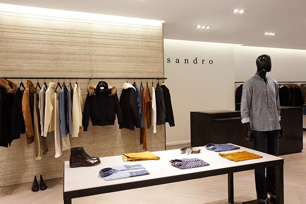 Sandro Fall 2012 Mens: How to be Forwardly Elegant