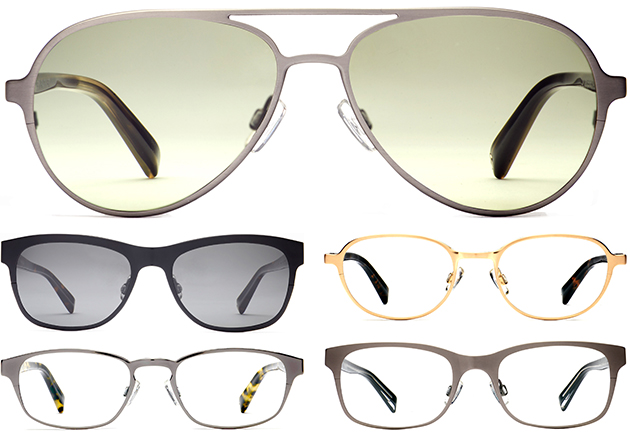 Warby Parker Titanium Collection Cover