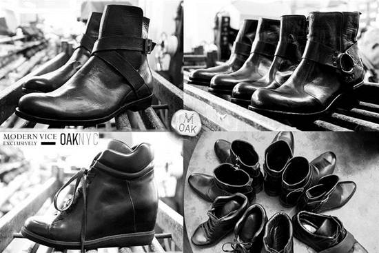 Modern Vice + Oak: Limited Edition Men's Boots