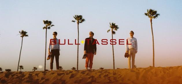 Bull + Tassel Tuxedo slipper tux club shoe