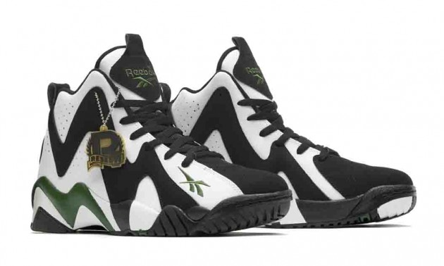 Reebok Kamikaze II Mid graphic sneakers basketball style retro trend