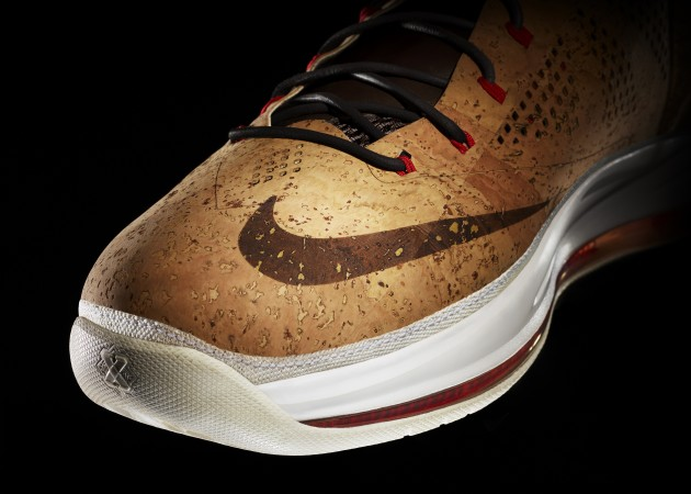 Nike Lebron James Cork NSW 2013 Celebration champagne champions miami heat pop popping bubbly balling baller performance sneakers sneak game design innovation
