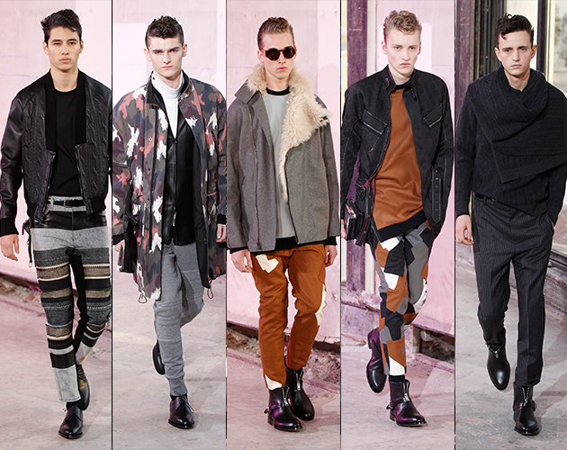 3.1 Phillip Lim Fall 2013 Menswear paris fashion week runway male models