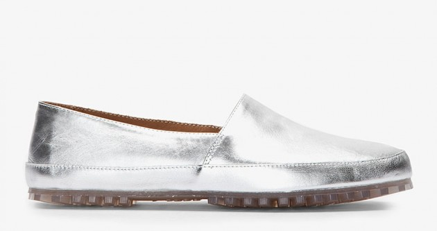 Maison Martin Margiela Men's Spring 2013 leather loafer metallic sneaker shirt button up runway fashion show sale discount buy delivery