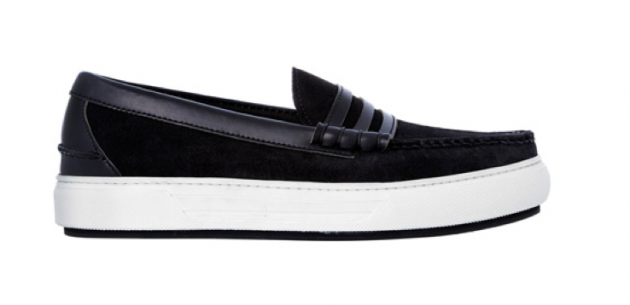 Alejandro Ingelmo Made in Maine Spring 2013 Collection loafers boat shoes spazzalato calf leather suede soles large designer special unique mens italian made in america USA