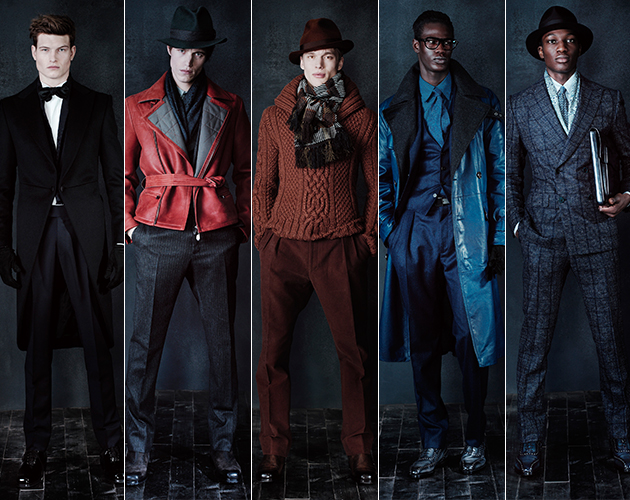 Berluti Fall 2013 Menswear paris fashion week male models