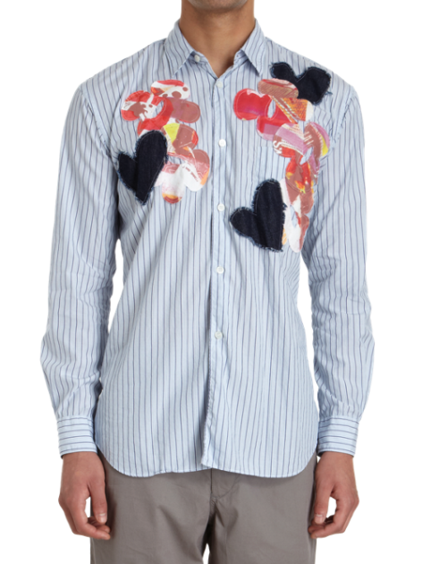 Comme Des Garcons Shirt Floral Abstract Barneys spring 2013 trend