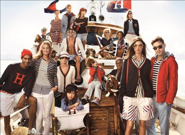 Tommy Hilfiger Spring 2013 Campaign nautical sale launch estelle do your thing win free download sale price store buy models boat boating