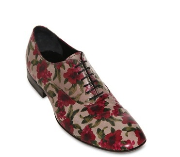 Gianni Barbato Shoe floral flower men mans spring 2013 trend trendy hip designer balenciaga phillip lim balenciaga paul smith top man ann demeulemeester etro shirt pants trousers pull over sweatshirt