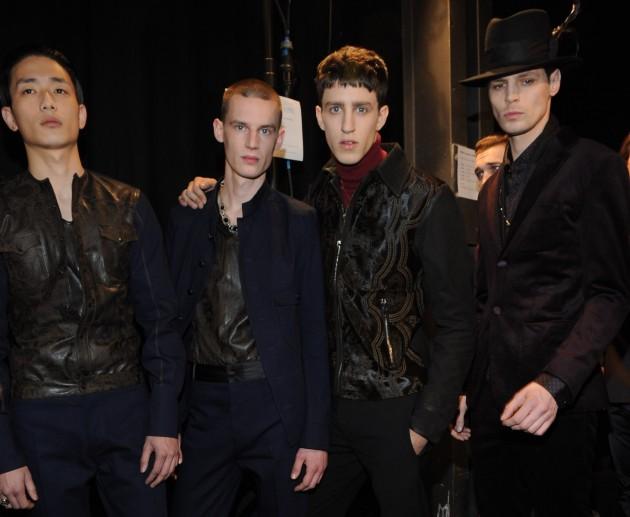 Diesel Black Gold Fall 2013 Menswear backstage male models pitti uomo milan fashion week