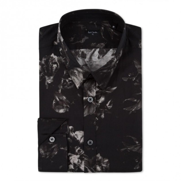 Paul Smith x ray Etro Printed Cotton Blend Pique Polo Shirt Reclaimed Vintage varsity jacket floral flower men mans spring 2013 trend trendy hip balenciaga phillip lim ann demeulemeester top man adidas y-3 opening ceremony sneakers pants tops shirts