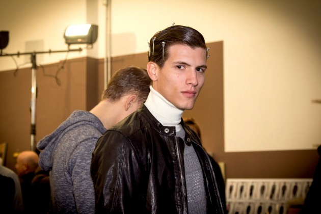 corneliani pitti uomo backstage runway show fashion menswear mens style week