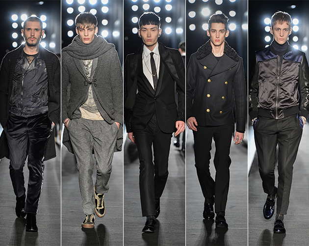 Diesel Black Gold Fall 2013 menswear milan pitti uomo runway male models designer