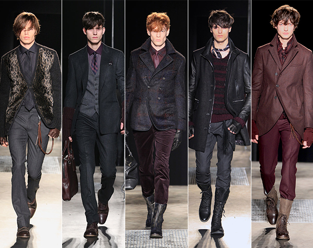 john varvatos Fall 2013 runway mens designer pitti uomo dandy rock and roll new york