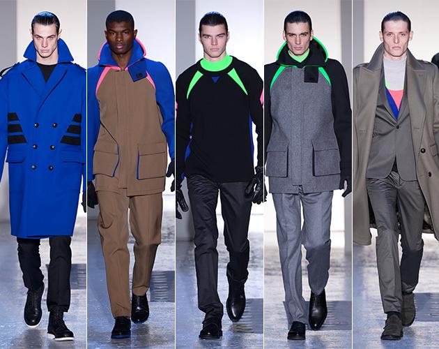Mugler Fall 2013 Menswear paris fashion week models