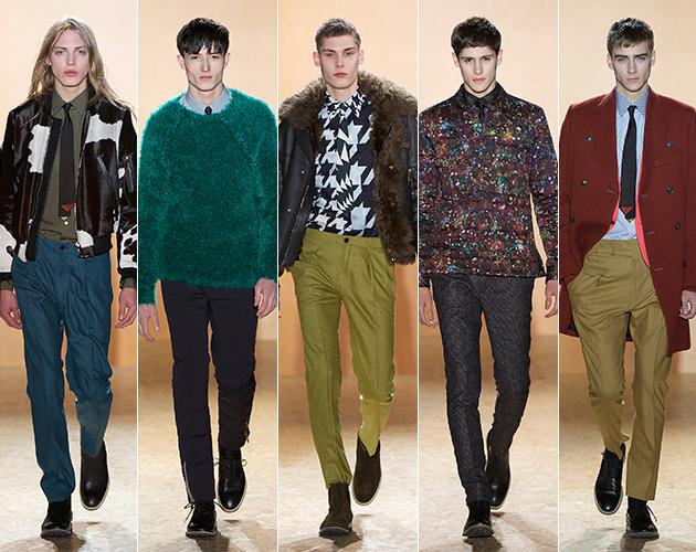 Paul Smith Favorite Fall Autumn Five Paris Fashion Week runway designer male models