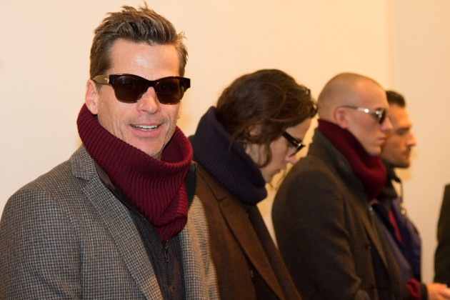 Trussardi Men's fall 2013 runway pitti uomo fashion show italian designer mens style