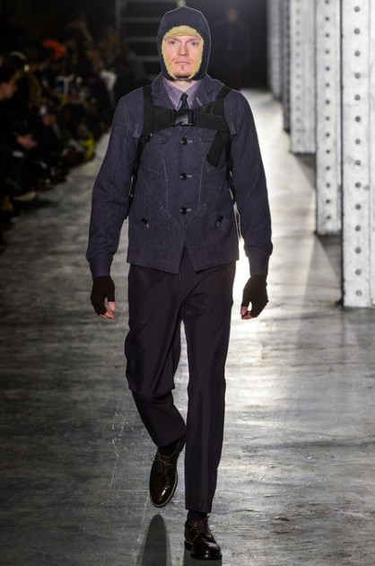 N.Hoolywood Fall 2013 Fashion Week New York Amelia Earhart menswear models runway