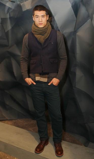 Raleigh Fall 2013 New York Fashion Week Presentation Industria Eugene Tong Denim Casual Menswear Models Basics