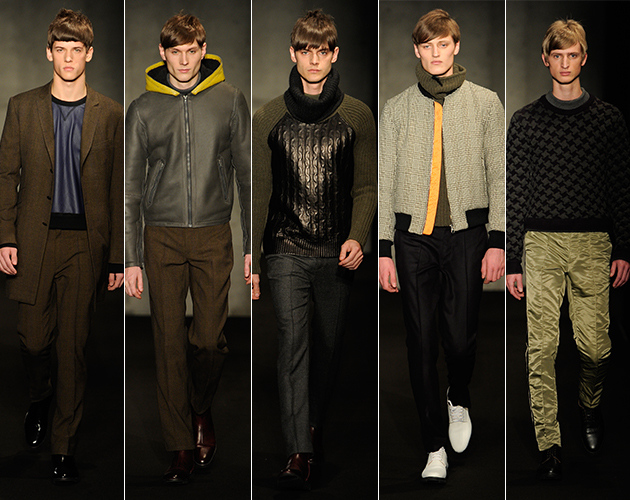 Rag & Bone Fall 2013 Menswear Runway Fashion Show models UVA technical london David Neville Marcus Wainwright buy purchase sale new york fashion week