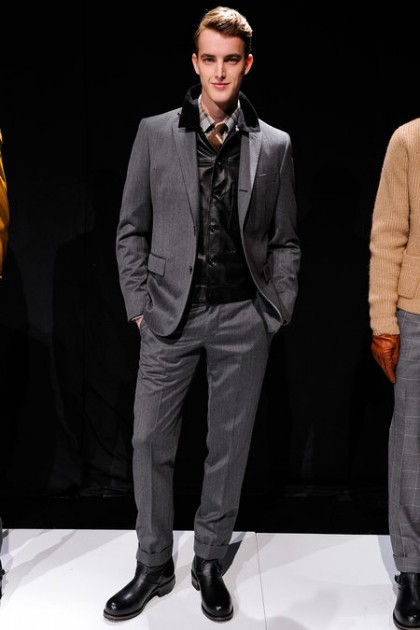 Todd Snyder Fashion Week Presentation Fall 2013 menswear models