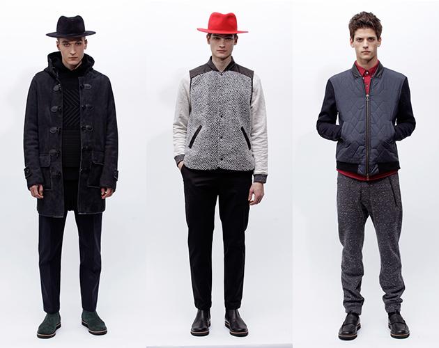 Timo Weiland Menswear Fall 2013 New York Fashion Week Presentation models
